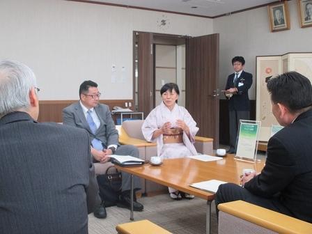 協働事業者のNPO法人ちがさき自然エネルギーネットワークより副代表理事の西川さん