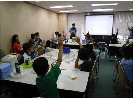 環境教室は勉強になりました