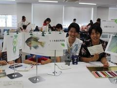 日本大学生物資源科学部、北陵高校の学生さんお手伝いありがとうございました。