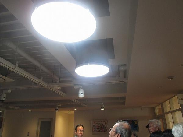 自然採光を取り入れた設備では、とても明るく参加者の皆さま驚いていました!